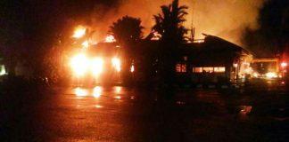 Polres Dharmasraya di Serang dan dibakar OTK, 2 Pelaku Tewas didor